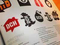 DCH Logos In the CA Design Annual
