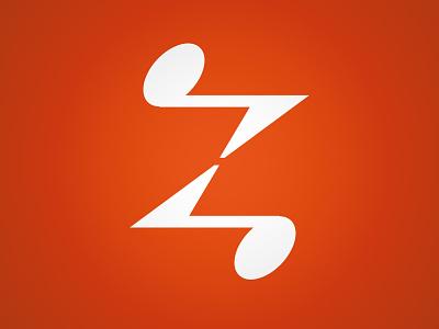 Zazz Music Logo logo trademark z music