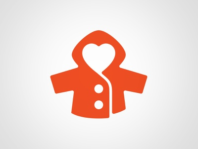 Coats For Kids logo heart coat