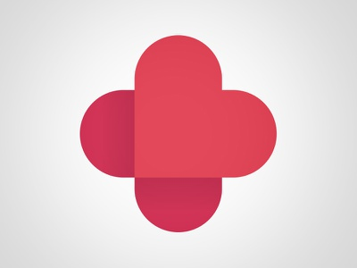 Cardiac & Vascular Center Logo logo trademark heart