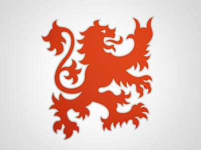 Old Home Guard Logo logo trademark lion rock on!