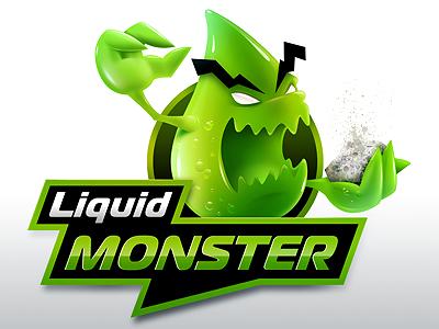 Monster illustration photoshop monster green