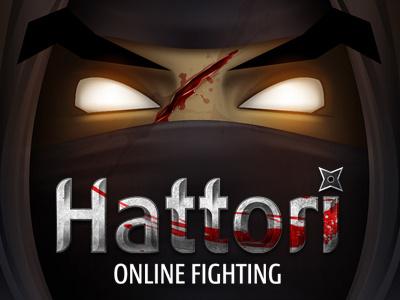 Hattori game illustration photoshop ninja uiux