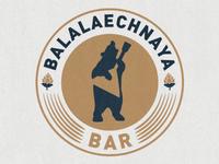 Balalaechnaya BAR balalaika bar bear logo