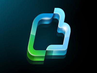 logo for a Sport Vision logo glass photoshop