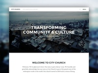 City Church Theme