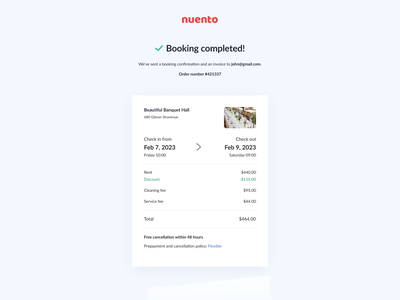 Booking Completed app web design ui checkout flow flow checkout completed booking