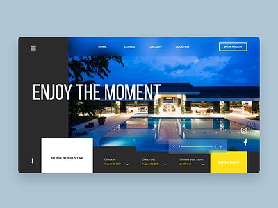 Mobile App Login Page UI Design Concept web design design ux user experience design ui ux booking website landing page website design user interface design ui design ui