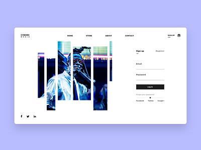 Website Login Page UI Design Concept landing page login page ui web login screen ui web best login ui design website concept website design user interface design ui ux ui design ui login ui design