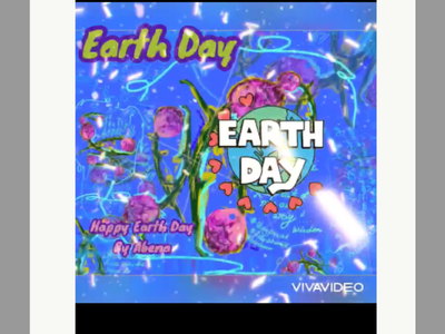 Earth Day Video front cover