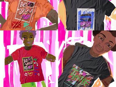 T Shirt Designs Detail 2 font womensart artist art logo branding blackart culture print tshirts t shirt design