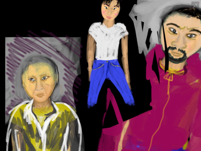 Stop aanit-Asian Hate video racism community politics political adobe sketch anti racism protest art illustration design