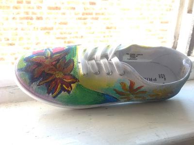 Painted Sneaker 2
