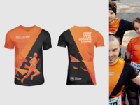 T-shirt design - Running