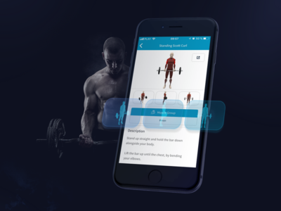 Infogym Mobile App Features Presentation