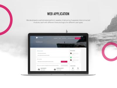 EasyTranslate dashboard presentation web development language translation design desktop app portfolio dashboard desktop