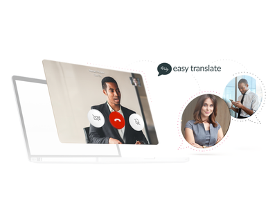 Easytranslate video call translations chat app video app presentation software brothers web development