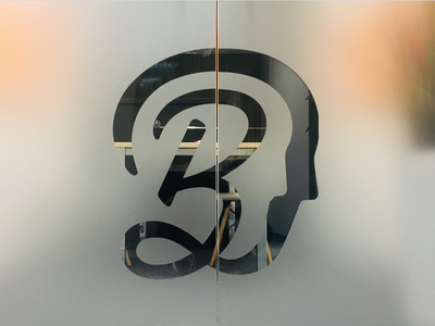 Software Brothers Logomark on a door logomark vector logo ui branding design software brothers