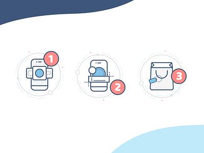 Essmak icons ecommerce webdesign ui app icons design icons