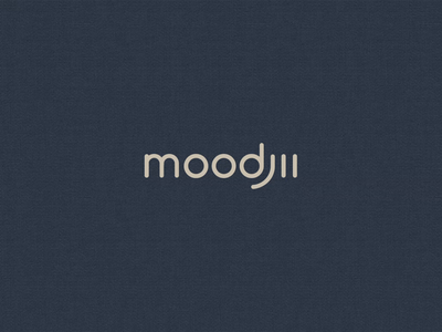Moodjii Logo design branding logo lineart animation