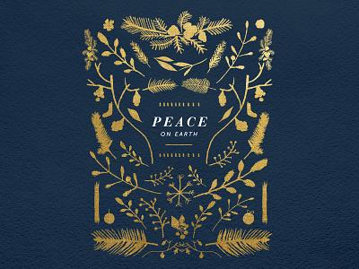 Peace christmas dark watercolor serif keyart peace