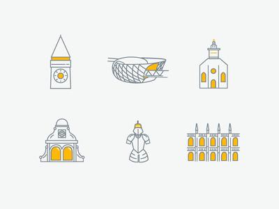 City of Graz icon set