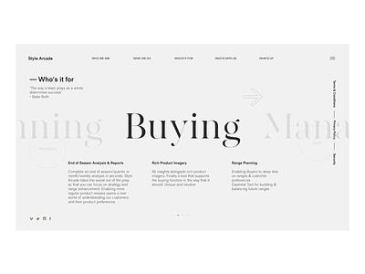 Typographic website ui ux web typographic typography website