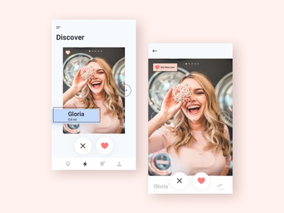 Dating App Concept ux ui dating app