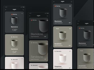 kups - variants mds shiftnudge mobile app design mobile design mobile app mobile ui uidesign uiux ui