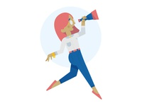 404 Illustration Concept