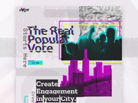 Uvote Landing Page