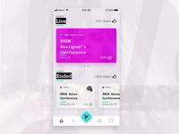 Uvote Mobile Home Screen