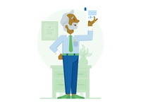 VP of Sales Illustration