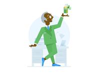 CFO Character Illustration