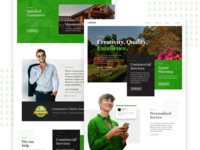 Acres Landing Page