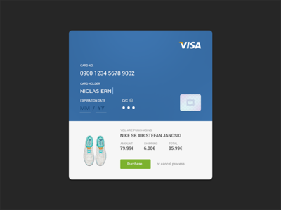 Credit Card Checkout uiux 002 dailyui challenge ecommerce shop minimal checkout credit card user interface ux ui
