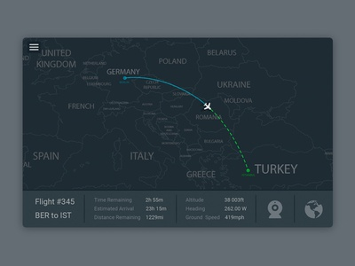 Daily UI 029 / Map