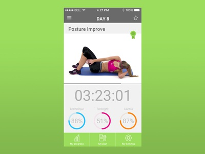 Daily UI #062 /  Workout Card