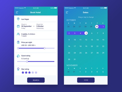 Hotel Booking / Daily Ui  #067