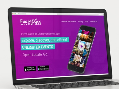 Eventpass Landing Page