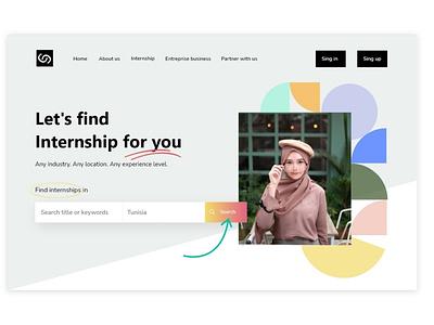 Landing page design web web design website design landing page vector branding ui logo illustration icon design