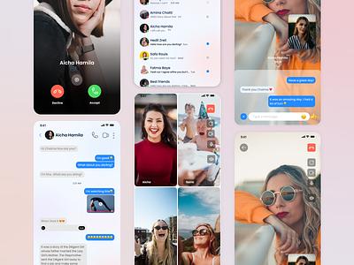 Chat App UI app ux design ui
