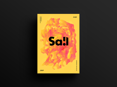 Poster Series Entry 04 type swiss posterdesign poster graphic design illustrator photoshop adobe abstract sa!l
