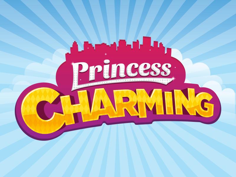 25 princess charming logo