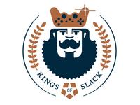 Kings of Slack (Sticker)