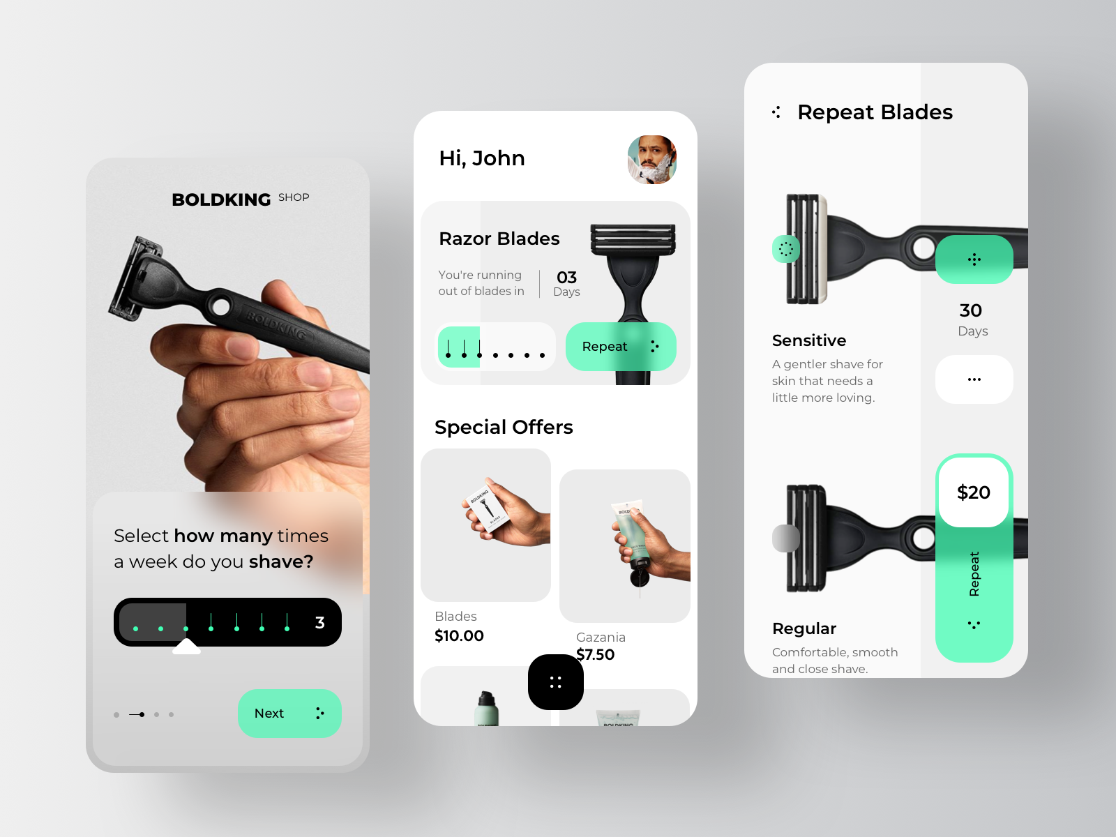 Boldking - Ecommerce Mobile Application