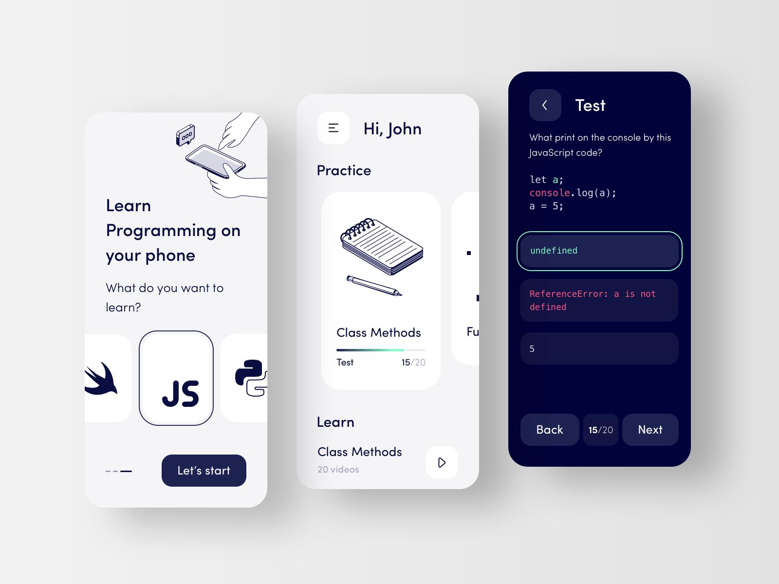 Programming Educational Platform