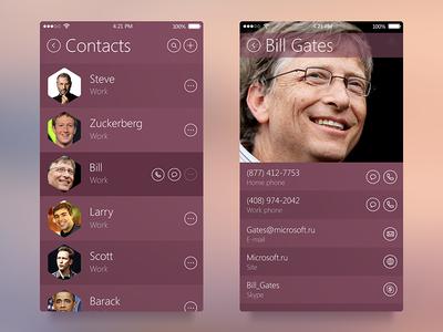 Contact App