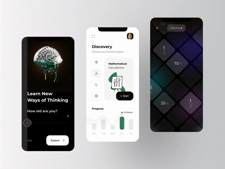 MathOs - eLearning Educational Platform Animation
