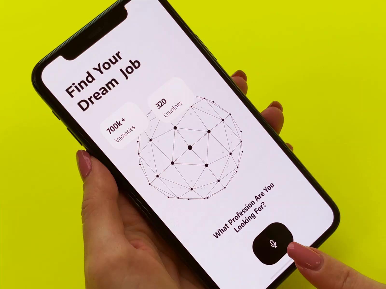 Jobly - Job Search Platform Mobile Prototype